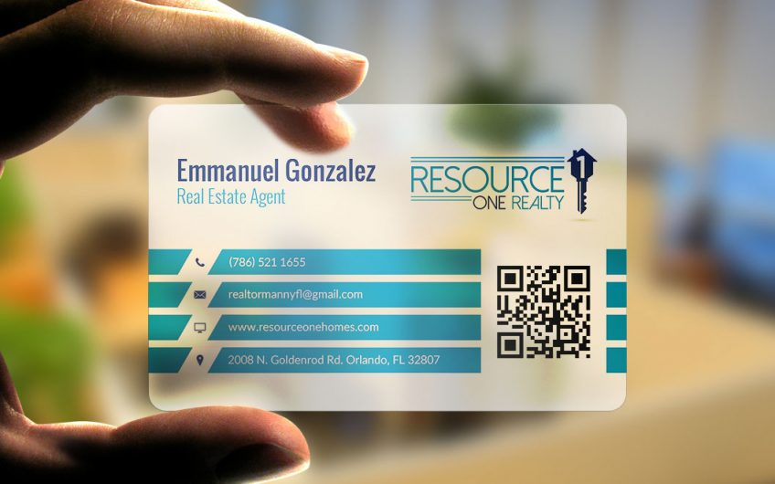 Resource One Realty – Business Card Design