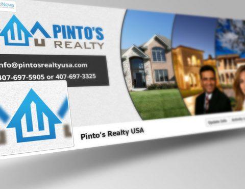 Pinto's Realty Social Media Design